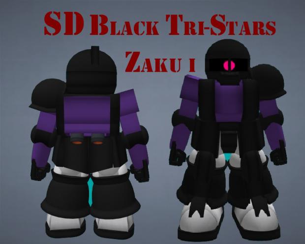 SD Black Tristars Zaku I