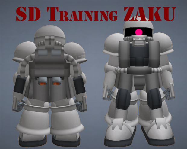 SD Training Zaku