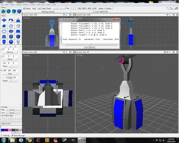 Turret Model