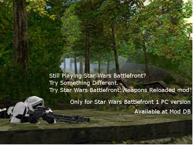 Star Wars Battlefront:Weapons Reloaded poster
