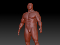 My first Zbrush human