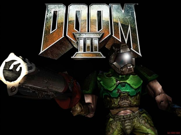 Doom 3 with Quake 3 bazooka