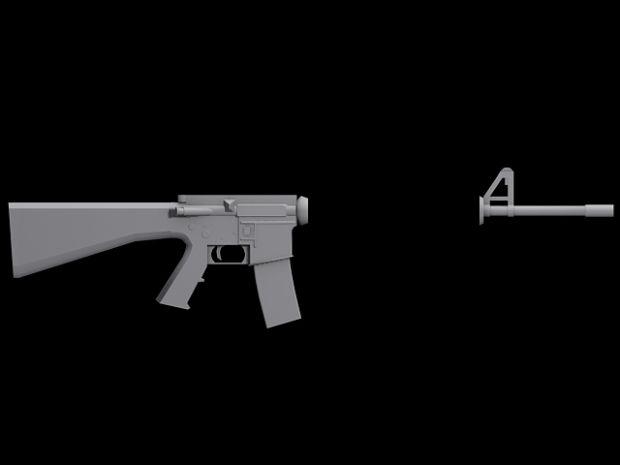 M16 M203 WIP