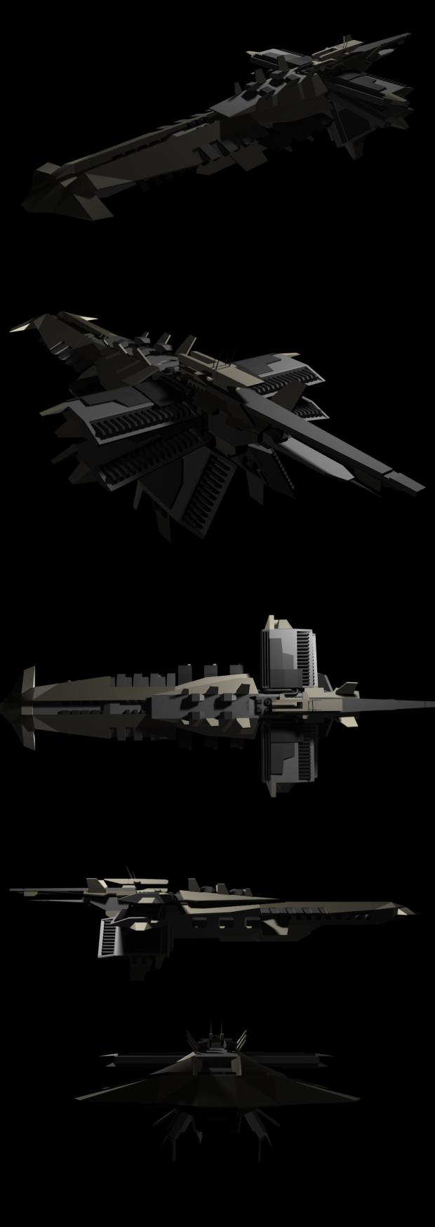 Helghast Cruiser