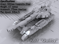 "K87 ""Guilty"" Howitzer"