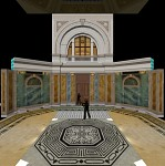 National Assembly entrance vestibule WIP