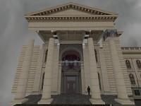Building entrance WIP