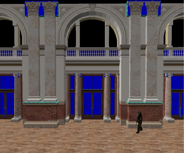 National Assembly main hall WIP