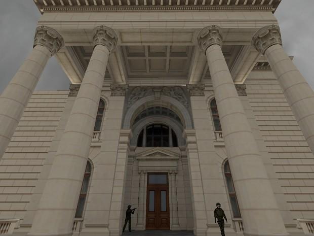 Building entrance WIP #2