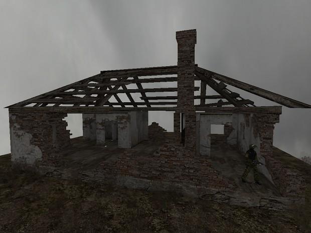 Ruined house WIP