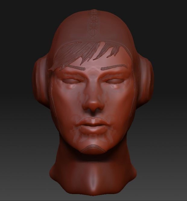 Having a fiddle about in ZBrush