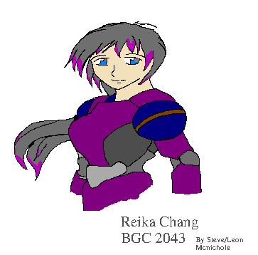 Digital Tablet Sketch of Reika Chang