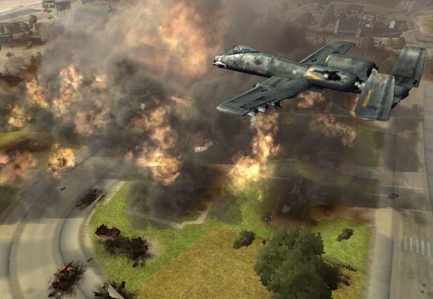 A-10 Napalm Strike