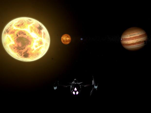 Crossfire Planetary Landscape : Sol