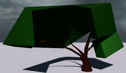 Low Poly/Abstract Tree Update