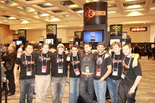 Contagion and I at GDC Play