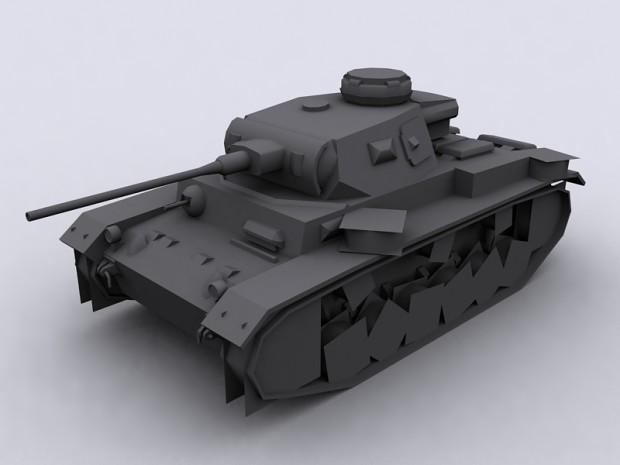 Panzer III Ausf. J' / J2