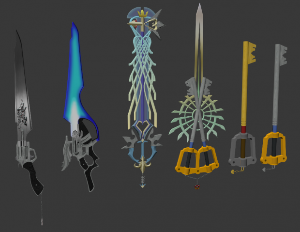 Progress on famous weapons