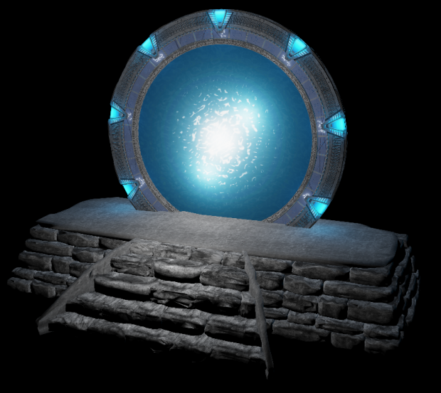Same thing with the Pegasus StarGate