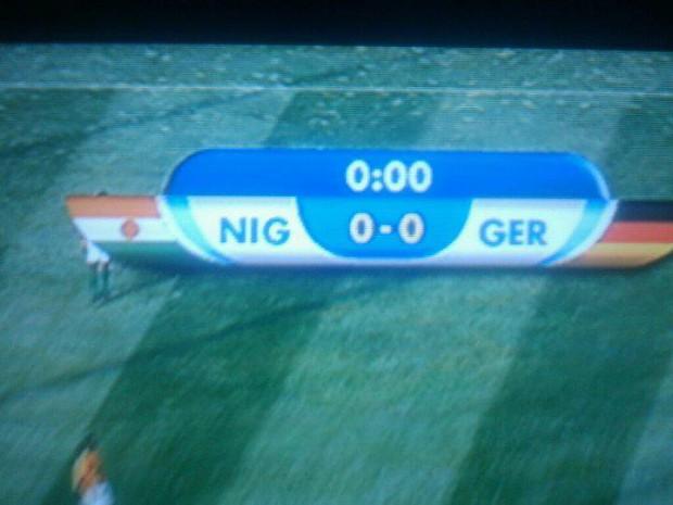 Nigeria Vs Germany Awkward Scoreboard Image Night