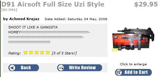 Gangsta toys