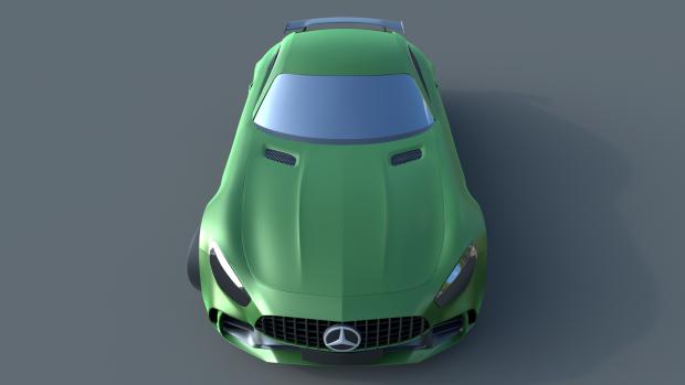 Merc AMG GTR
