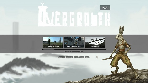 Overgrowth Main Menu Alternative