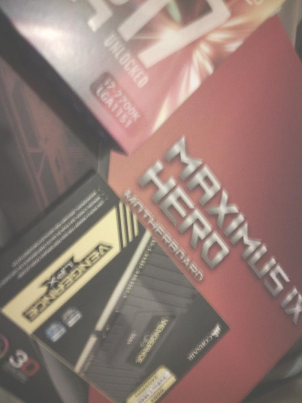 I'm liking my new hardware so far