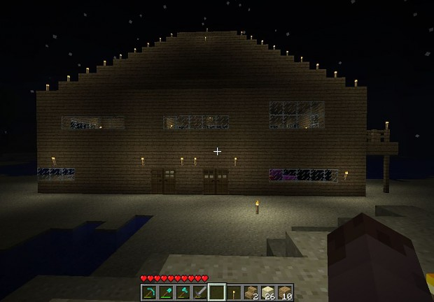 Minecraft Massive Beachouse