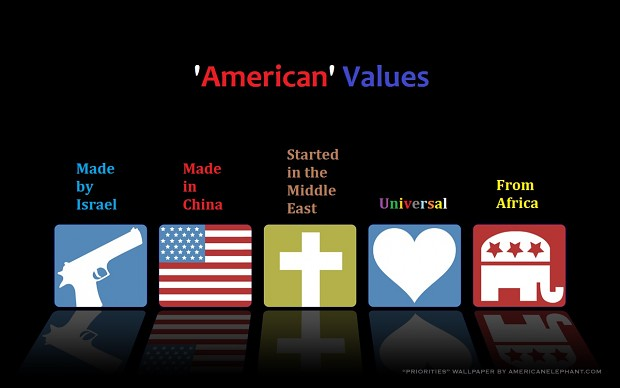 american values 1 The culture of the united states of america is primarily of western culture ( european) origin  1 origins, development, and spread 2 regional variations   of liberia, which inherited a considerable amount of american culture and values.