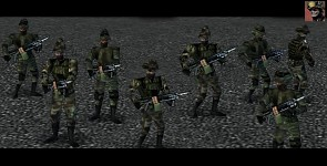 Empire Earth: Marine Mexican Army Skin