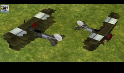 Empire Earth: Fokker Airplane Alternative Skin