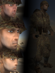 Official Faces (Turkmenistan Army)