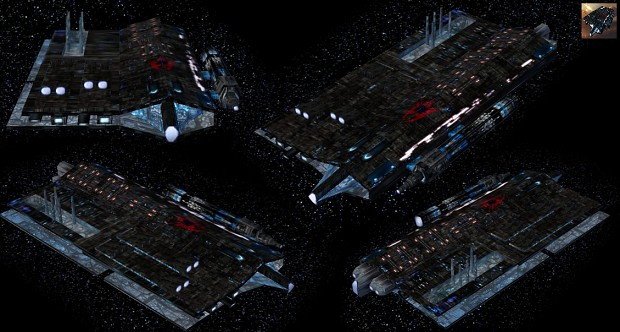Empire Earth: Capital Spaceship New Skin