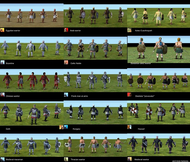 Empire Earth: New Skins for Barbarian