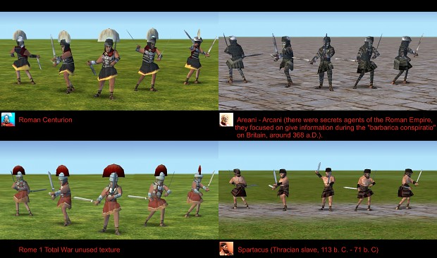 Empire Earth: New Skins for Roman Centurion