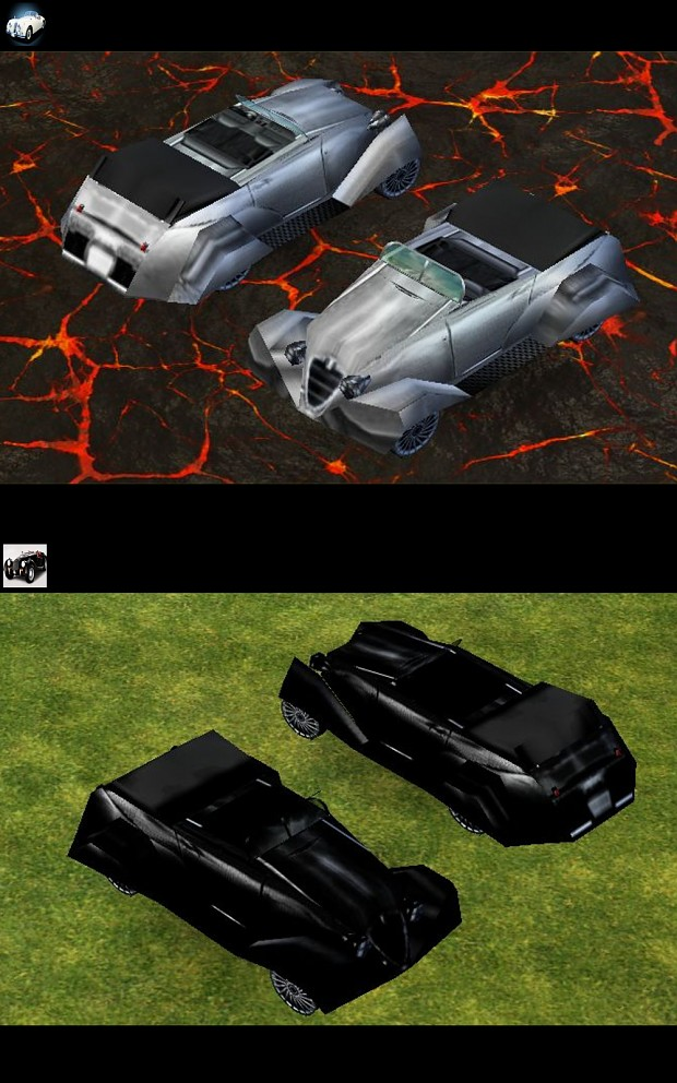 Empire Earth: New Skins for Staff Car
