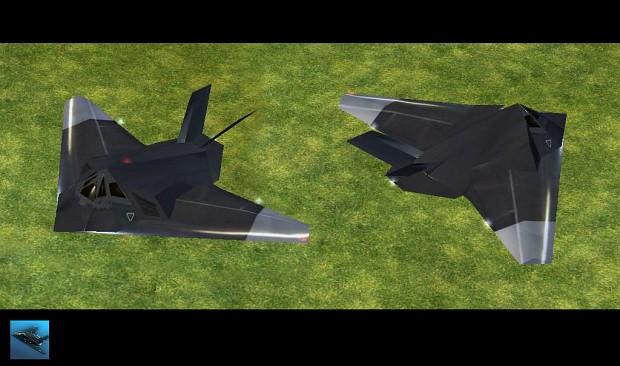 Empire Earth: New Skin For F117 Fighter / Bomber