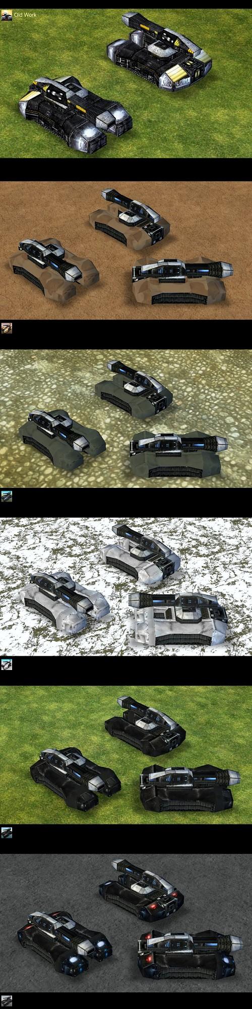 Empire Earth: Gladiator Tank Multiple Skins