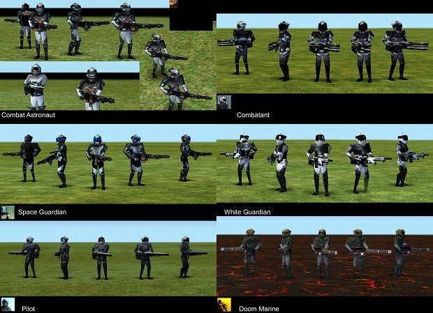 Empire Earth: Nano Guardian New Skins