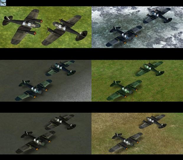 Bomber He111 Skin Pack
