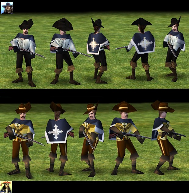 Empire Earth: Musketeer New Skins