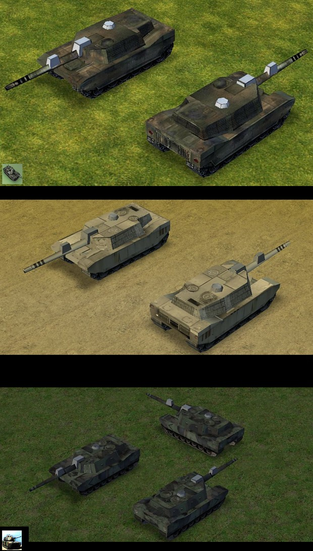 Empire Earth: M1 Abrams New Skin