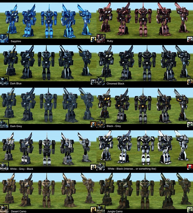Empire Earth: New Skin for Unit Command (Grigor II)