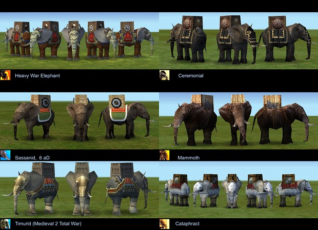 War Elephant Skin Pack
