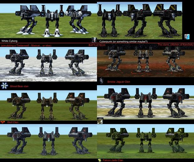 Empire Earth: Cyborg Zeus New Skins