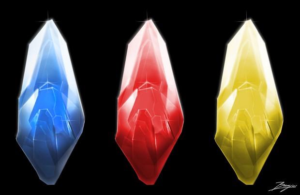 Crystal Shard Design