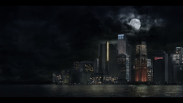 Matte Painting City
