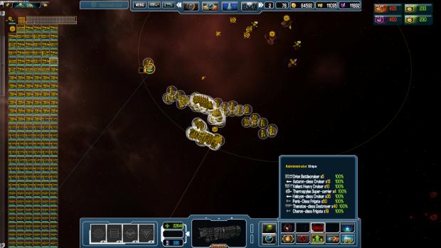 Too many ships?