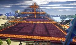 Glass pyramid - optifine shaders